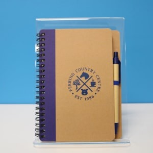 FCC Notebook and pen